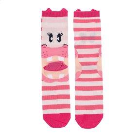 Hippo Heel Socks - Women's Size 9-11