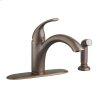 Quince 1-Handle Kitchen Faucet With Side Spray  American Standard - Oil Rubbed Bronze