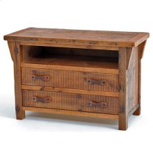 Stony Brooke 2 Drawer TV Stand With Open Top