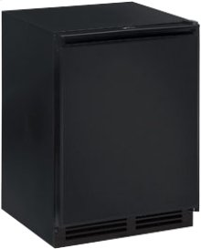 """Black Field reversible 2000 Series/ 24"""" Refrigerator Model/ Single Zone Convection Cooling System"""