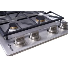 "Heritage 30"" Dual Gas Cooktop, Natural Gas"