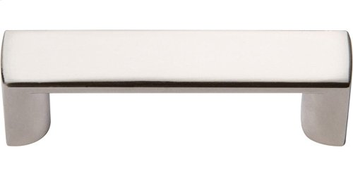 Tableau Squared Handle 1 13/16 Inch - Polished Nickel