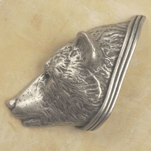 Bear Head Knob Facing Left Product Image