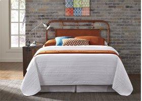 King Metal Headboard - Orange