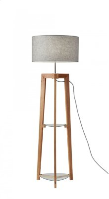 Henderson Shelf Floor Lamp