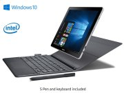 """Galaxy Book 10.6"""", 2-in-1 PC, Silver Product Image"""