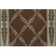 Chateau No21 Brown/green Runner