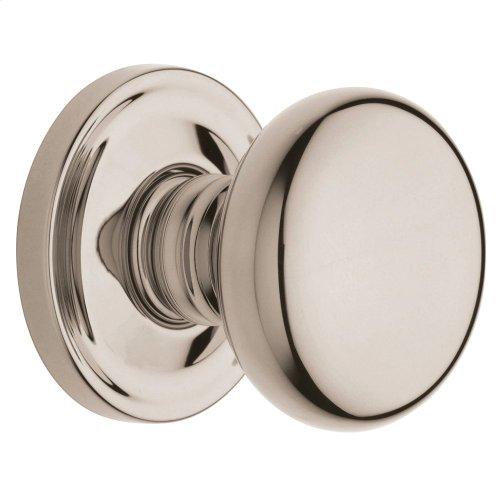 Polished Nickel with Lifetime Finish 5015 Estate Knob