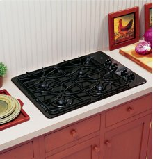 "(DISCONTINUED FLOOR MODEL 1 ONLY)GE® 30"" Built-In Gas Cooktop"