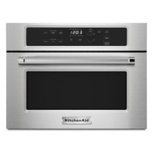 """SCRATCH AND DENT 24"""" Built In Microwave Oven with 1000 Watt Cooking - Stainless Steel"""