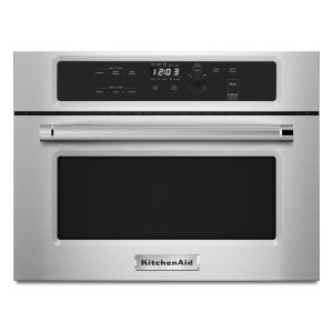 "Kitchenaid24"" Built In Microwave Oven with 1000 Watt Cooking - Stainless Steel"