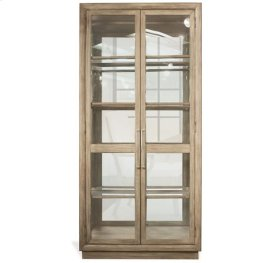 Sophie Display Cabinet Natural finish