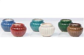 "6"" Round Self-Watering Pots Assortment - Set of 6"