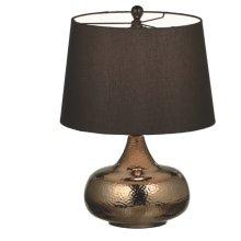 Textured Bronze Lamp. 150W Max.
