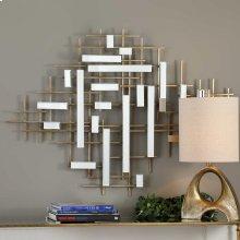 Apollo Mirrored Wall Decor