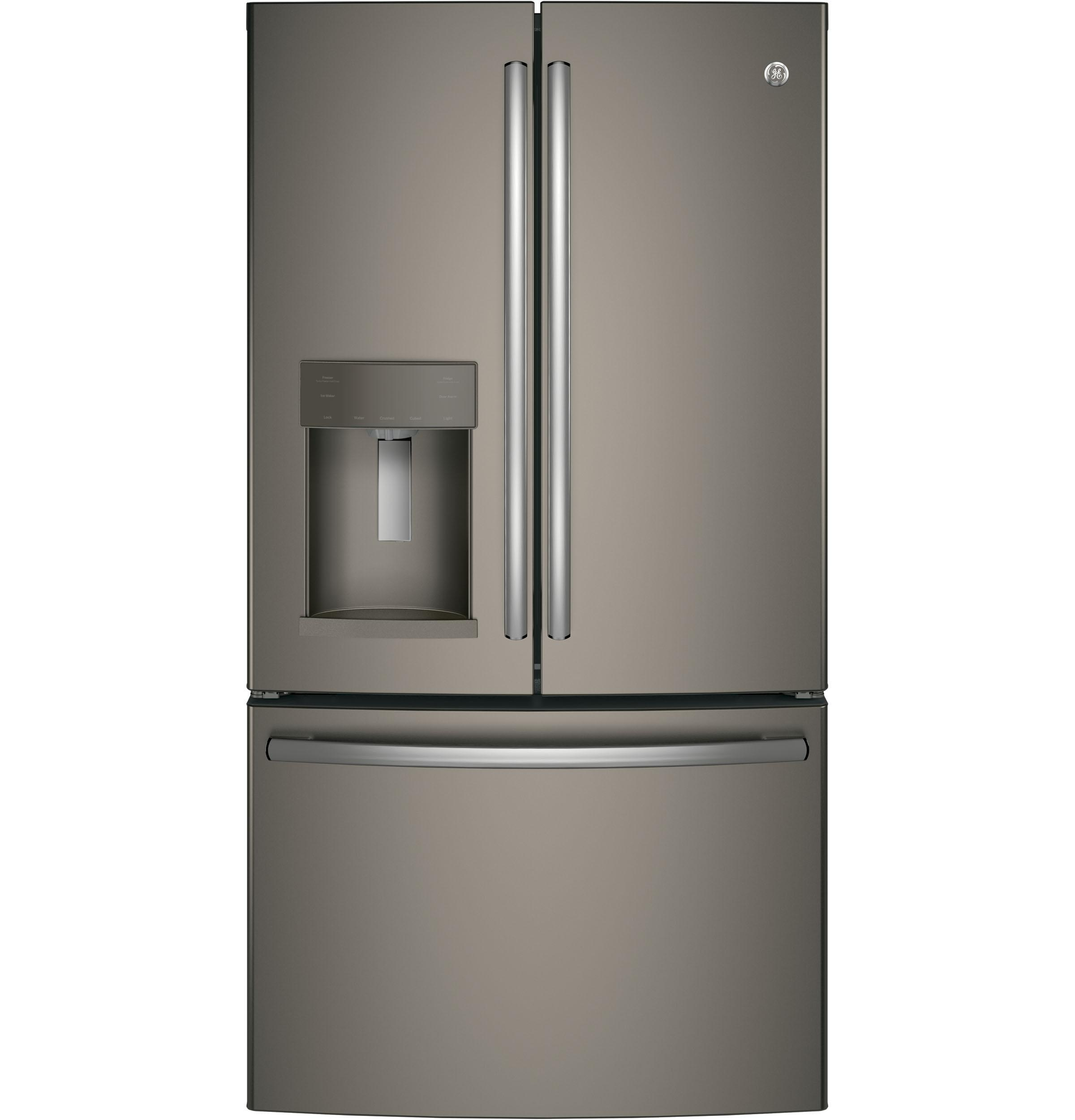 GE(R) ENERGY STAR(R) 27.8 Cu. Ft. French-Door Refrigerator SLATE