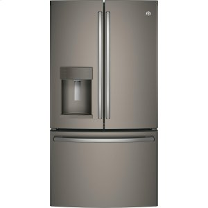 GE® ENERGY STAR® 27.8 Cu. Ft. French-Door Refrigerator - SLATE