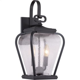 Province Outdoor Lantern in Mystic Black