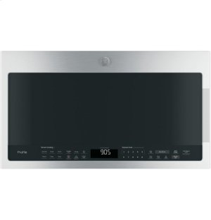 GE Profile™ Series 2.1 Cu. Ft. Over-the-Range Sensor Microwave Oven Product Image