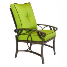 2401F High-Back Dining Chair