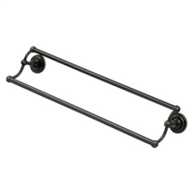 """24"""" Double Towel Bar, R-Series - Oil-rubbed Bronze"""