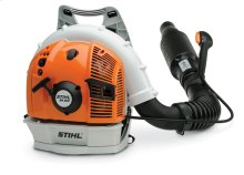 A quiet, yet powerful backpack blower for professionals working in noise-sensitive areas.
