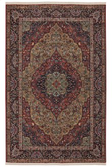 Medallion Kirman - Rectangle 10ft x 14ft