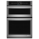 "Jenn-AirEuro-Style 30"" Microwave/Wall Oven with V2 Vertical Dual-Fan Convection System"