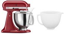 Exclusive Artisan® Series Stand Mixer & Ceramic Bowl Set - Empire Red