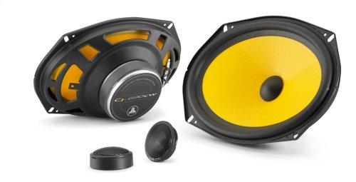 6 x 9-inch (150 x 230 mm) 2-Way Component Speaker System