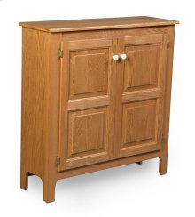 Country Double Door Cabinet