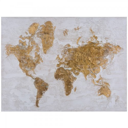 Map in Gold