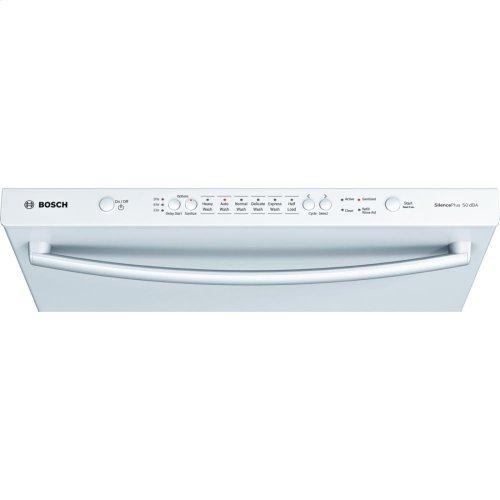 "24"" Bar Handle Dishwasher Ascenta- White (Scratch & Dent)"