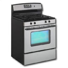Self-Cleaning Gas Range
