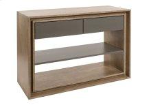 Console Table / 1 Adjustable Wood Shelf