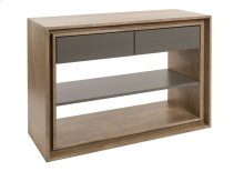 Console Table / 1 Adjustable Wood Shelf
