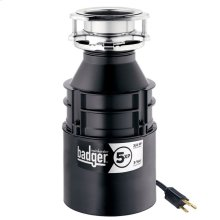 Badger 5XP Garbage Disposal with Cord, 3/4 HP