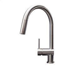 stainless steel kitchen faucet