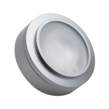 XENON PUCK LIGHT STAINLESS STEEL W / LAMP