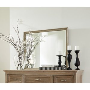 JOHN THOMAS FURNITURESonoma Mirror Taupe Gray