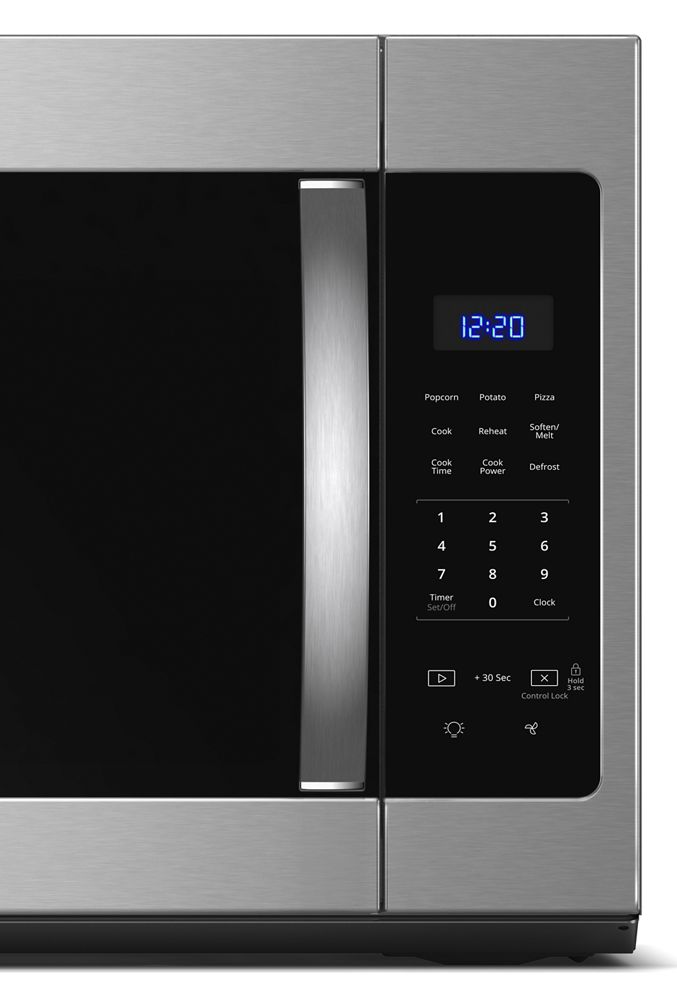 Wmh31017hs Whirlpool 17 Cu Ft Microwave Hood Combination With