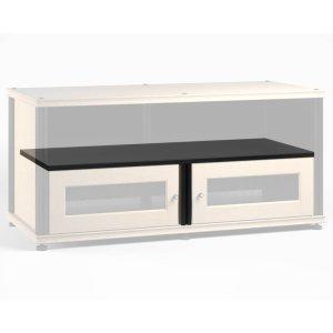 "Salamander DesignsSynergy Double-Width Shelf, 8.5\"" Black Post"
