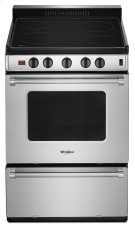 24-inch Freestanding Electric Range with Upswept SpillGuard Cooktop Product Image