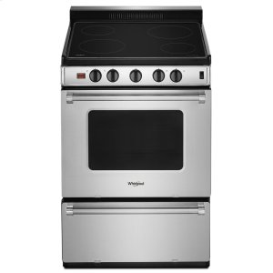 Whirlpool24-inch Freestanding Electric Range with Upswept SpillGuard Cooktop