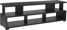 """Morristown Collection 59""""W TV Stand in Espresso Wood Finish"""