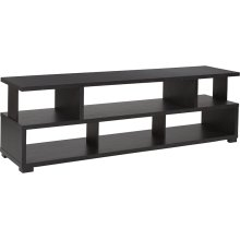 "Morristown Collection 59""W TV Stand in Espresso Wood Finish"