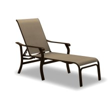 Villa Sling Four-Position Lay-flat Stacking Chaise