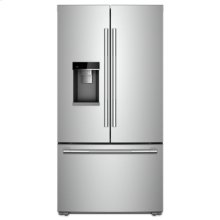 "RISE 72"" Counter-Depth French Door Refrigerator with Obsidian Interior"