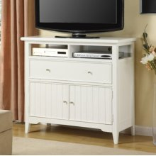 White Cottage TV Stand