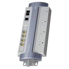 Max 8 AV - 8 AC; Coax and Tel; AVM, Line Filtration